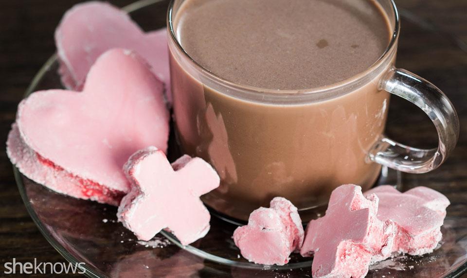 Red velvet marshmallows recipe