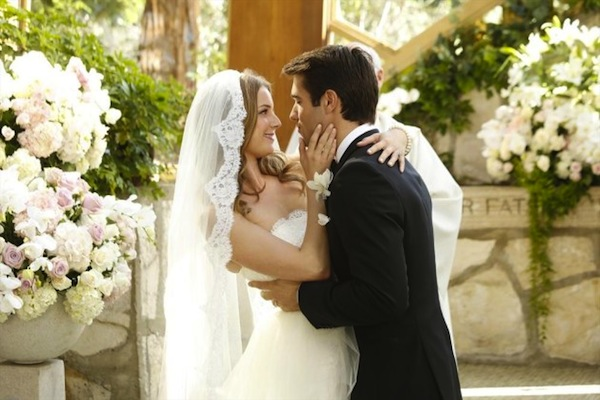 Emily and Daniel share their first kiss
