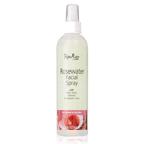 Salma Hayek Face Wash   Burt's Bees Rosewater and Glycerin TonerReviva Labs Rosewater Facial Mist