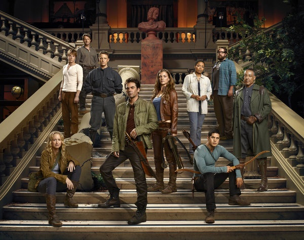 The cast of Revolution Season 1