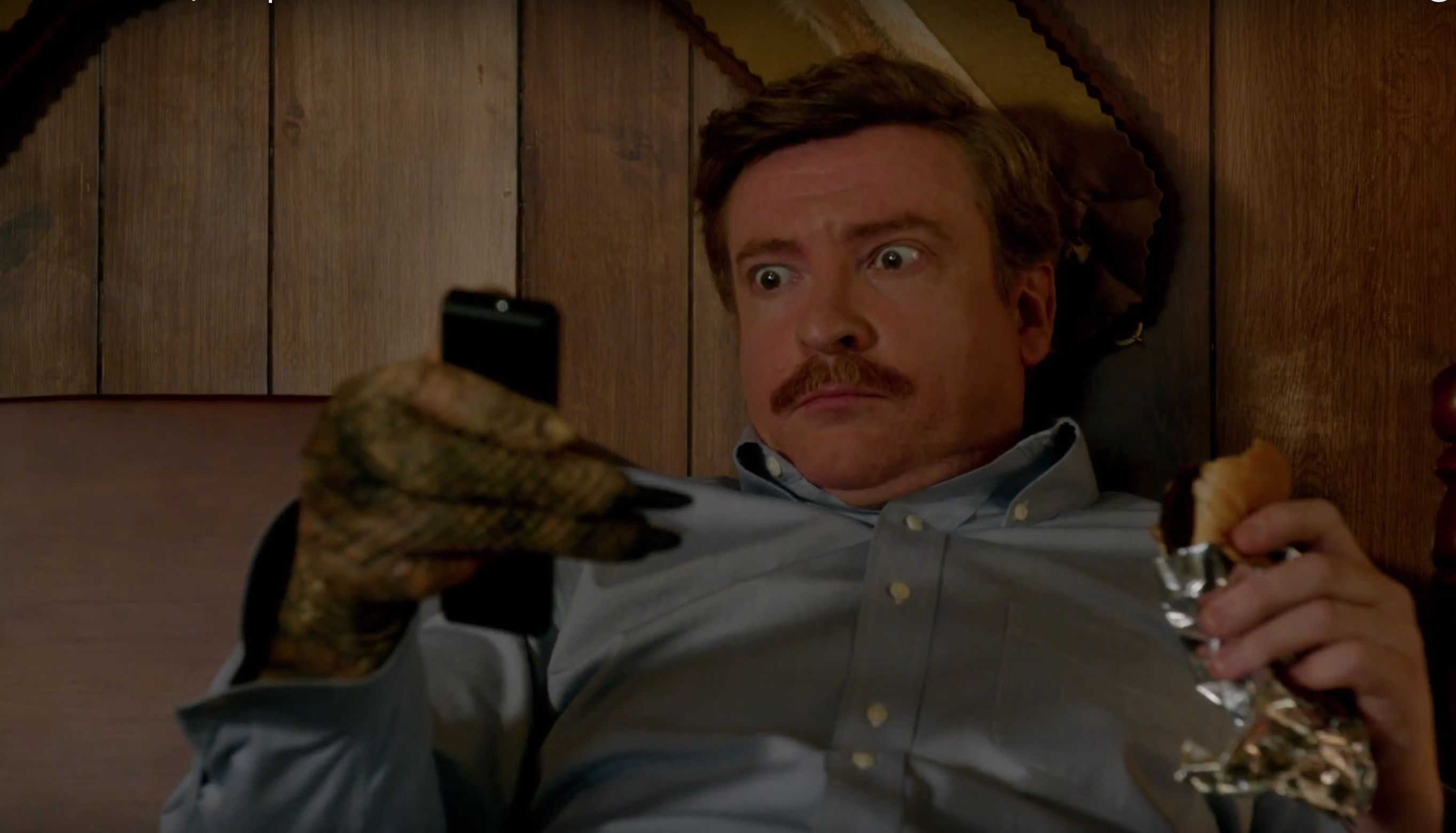 Rhys Darby in X-Files Reopened