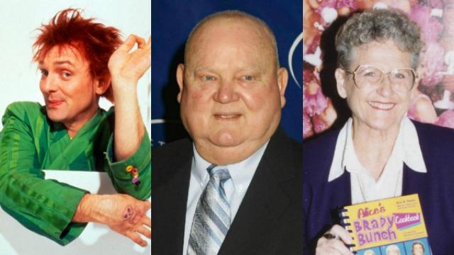 Rik Mayall, Don Zimmer, Ann B. Davis