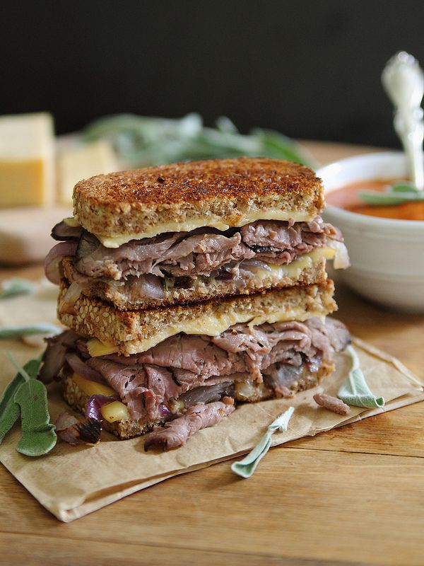 beef grilled cheese