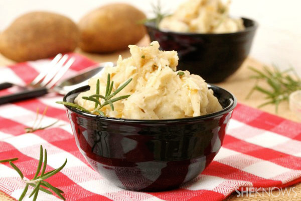 Rosemary and browned butter mashed potatoes
