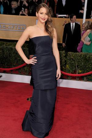 Jennifer Lawrence at the 2013 SAG Awards
