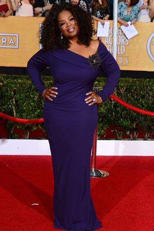 Oprah at the 2014 SAG Awards