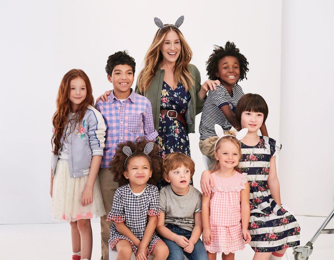 SJP Poses Gap Kids Rabbit Ears