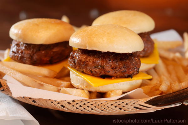 Hamburger Sliders