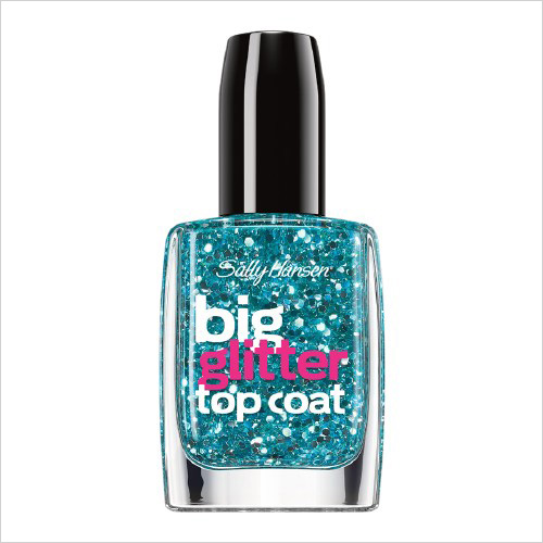 Sally Hansen Big Top Coat Treatment, Glitter - Blue Moonlight