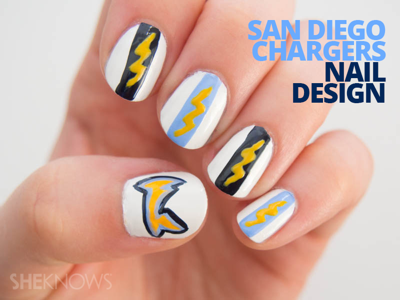 San Diego Chargers fan-icure