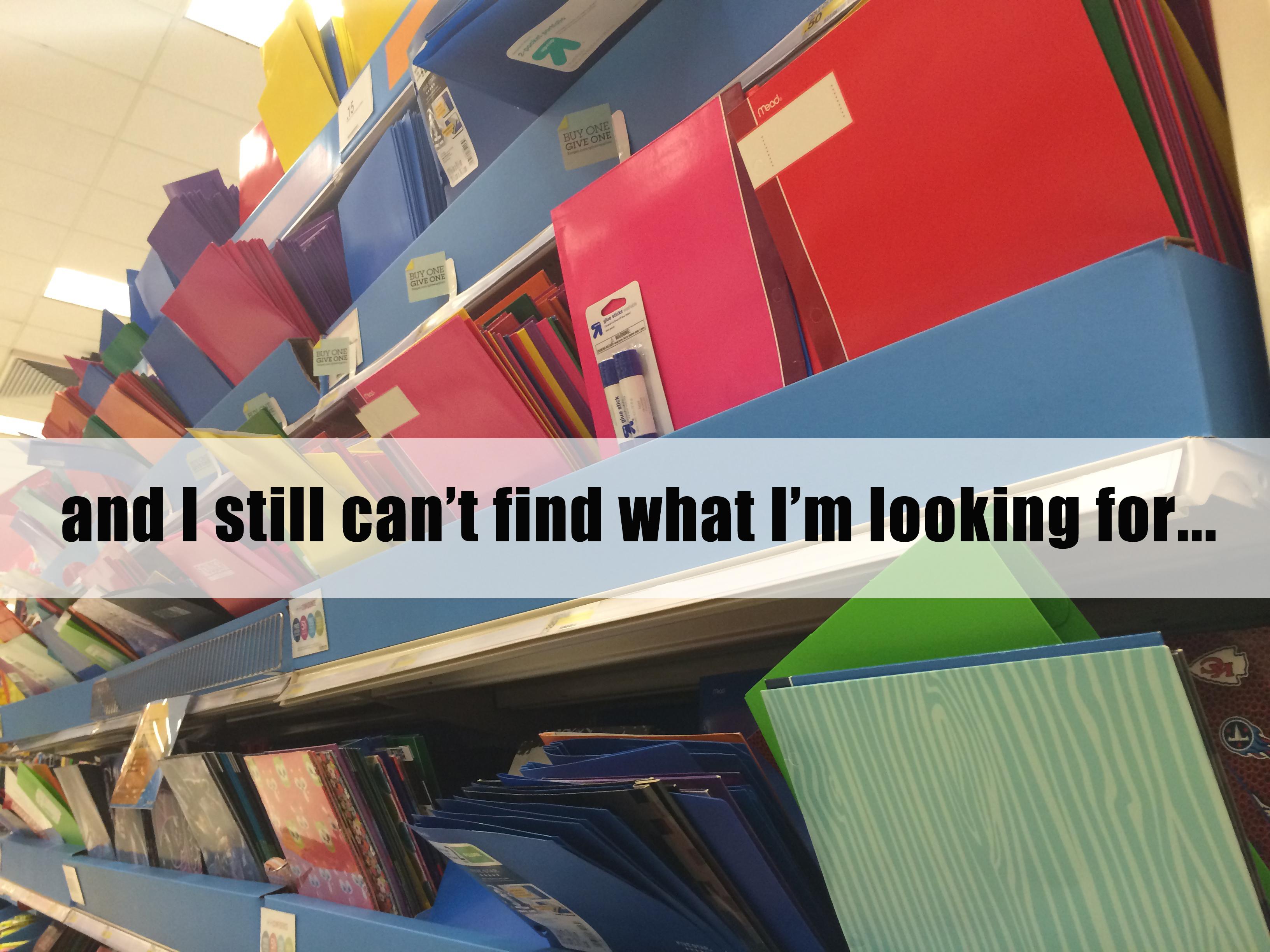 Still can't find it | Sheknows.com