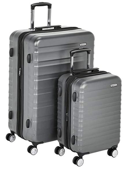 photo of amazon basics hardside luggage set