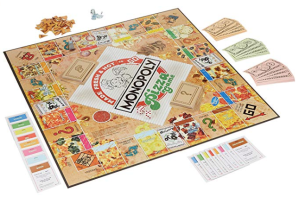 photo of monopoly pizza game