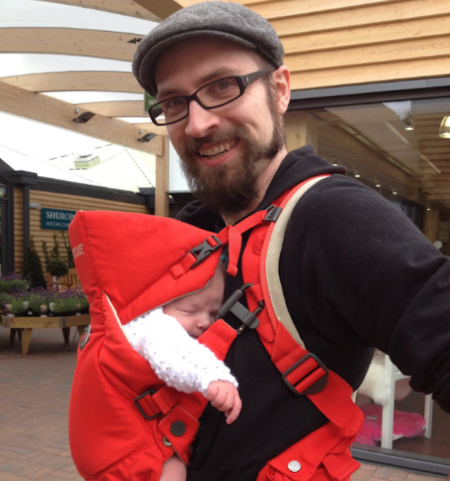 Moments That Defined Parenthood in 2018: Baby-Wearing Dads Unite
