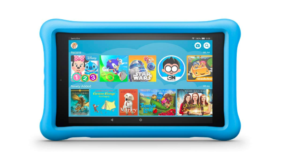 photo of fire hd 8 kids tablet