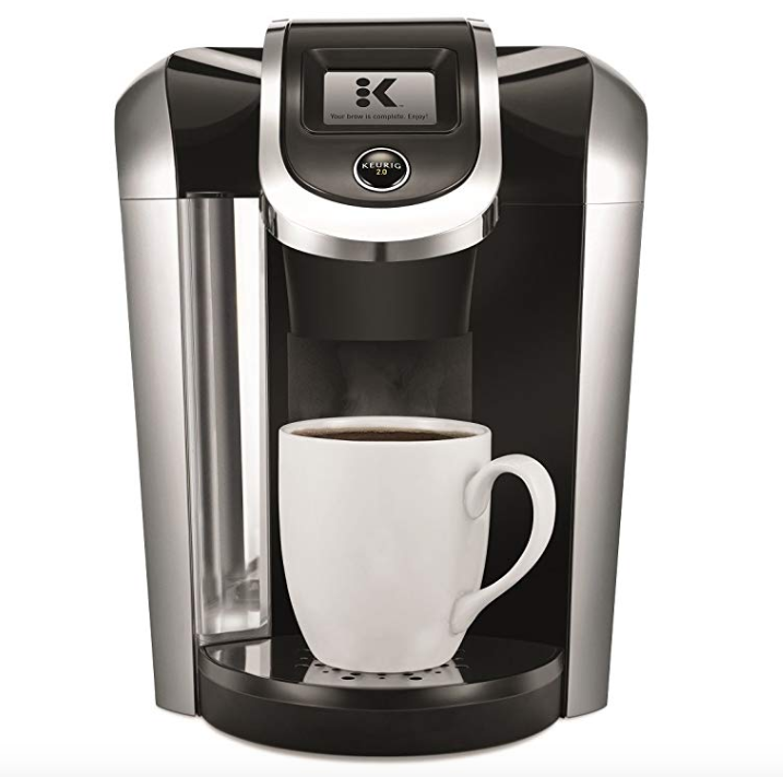 photo of keurig k-cup coffee maker
