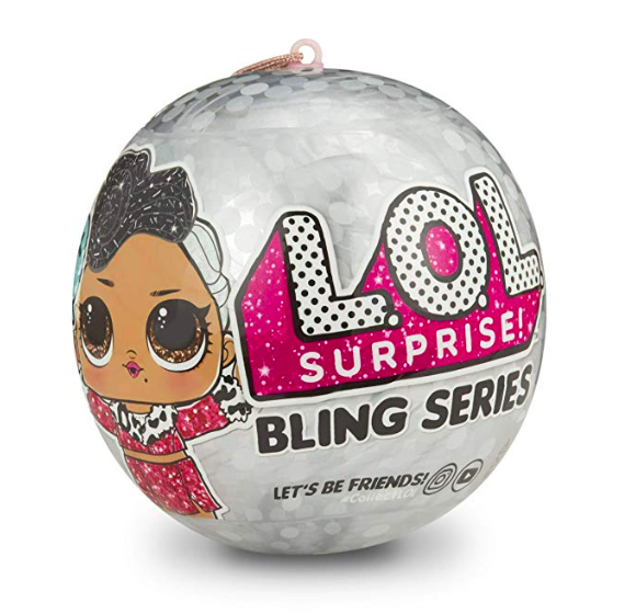 photo of lol surprise doll bling series