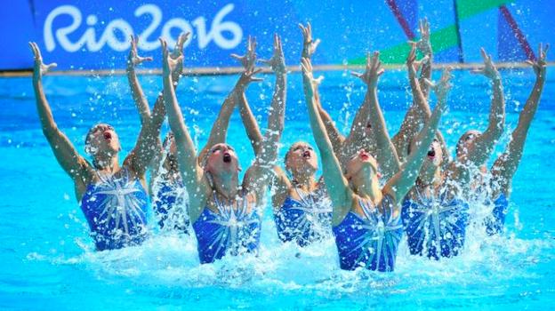 Russia Synchro olympics
