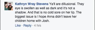 Anna Duggar comment