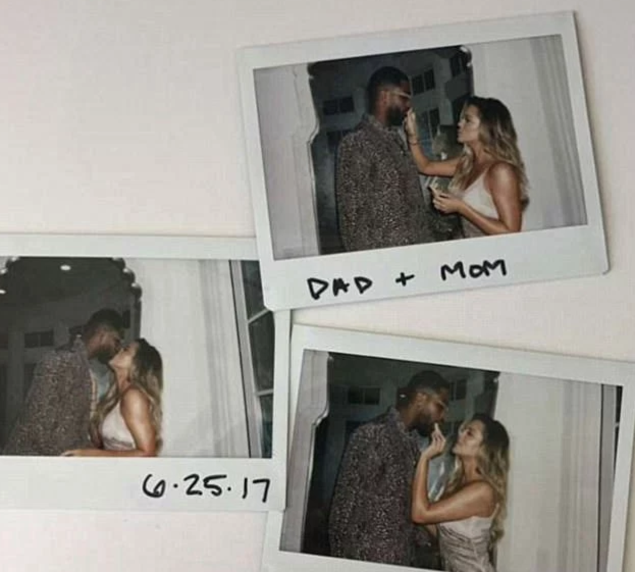 Khloe Kardashian Instagram pregnancy announcement
