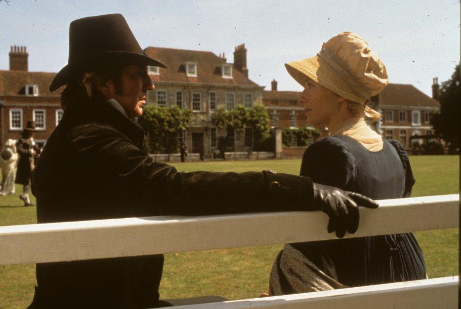 Alan Rickman and Emma Thompson in Sense and Sensibility