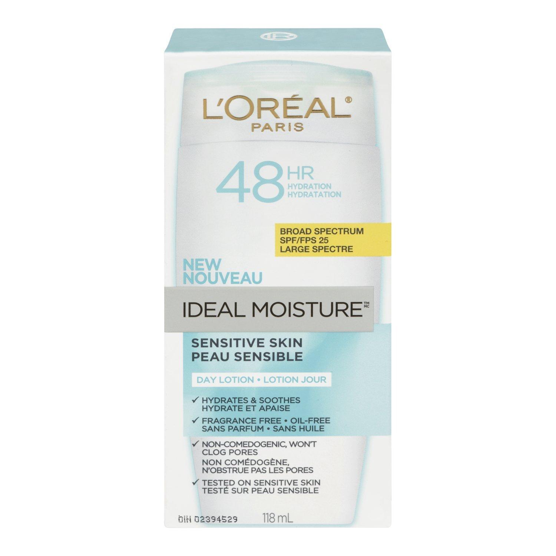 L'Oréal Paris Ideal Moisture Sensitive Skin Day Lotion SPF 25