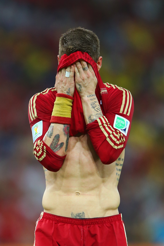 Sergio Ramos, Spain, World Cup 2014