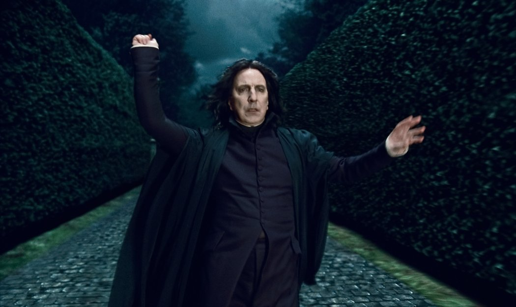 Alan Rickman as Severus Snape in Harry Potter and the Deathly Hallows: Part 1