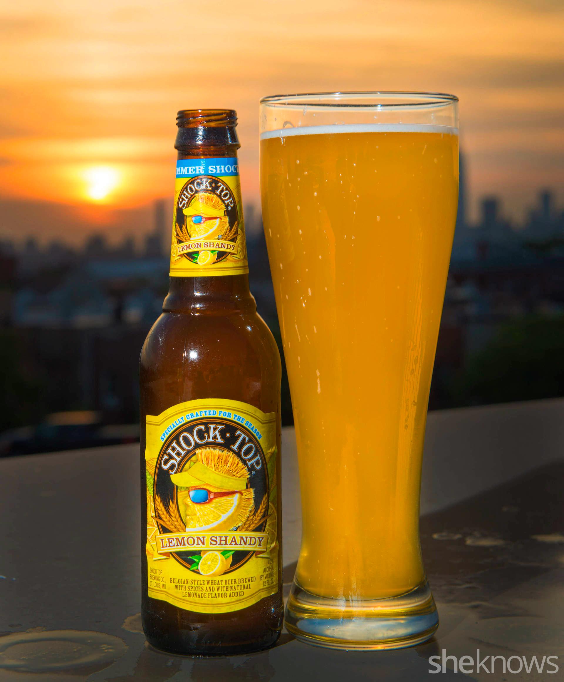 shock top shandy beer