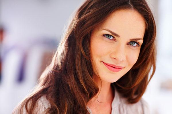 30-Something woman smiling