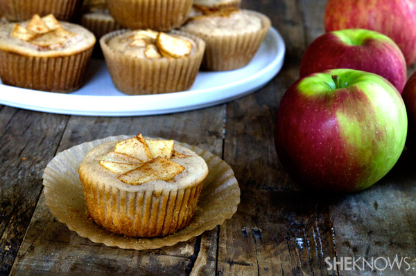 Gluten free apple cider muffins