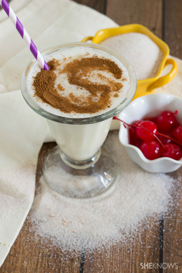 Churro milkshake