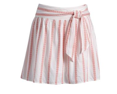Tie-Belt Embroidered Skirt from Old Navy
