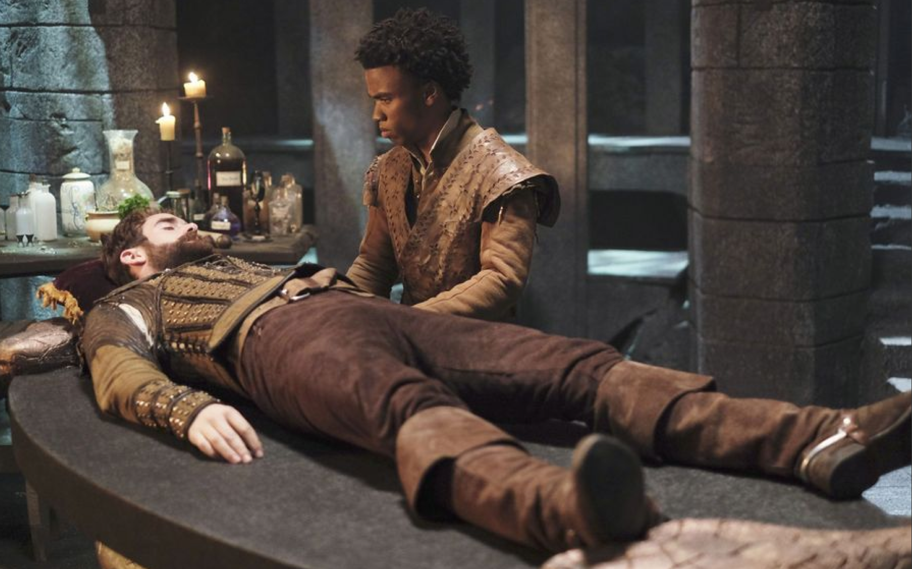 JOSHUA SASSE and LUKE YOUNGBLOOD in Galavant