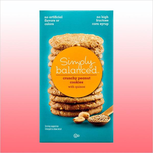 Simply Balanced Quinoa Crunchy Peanut Cookies