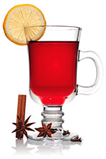 Spicy mulled wine