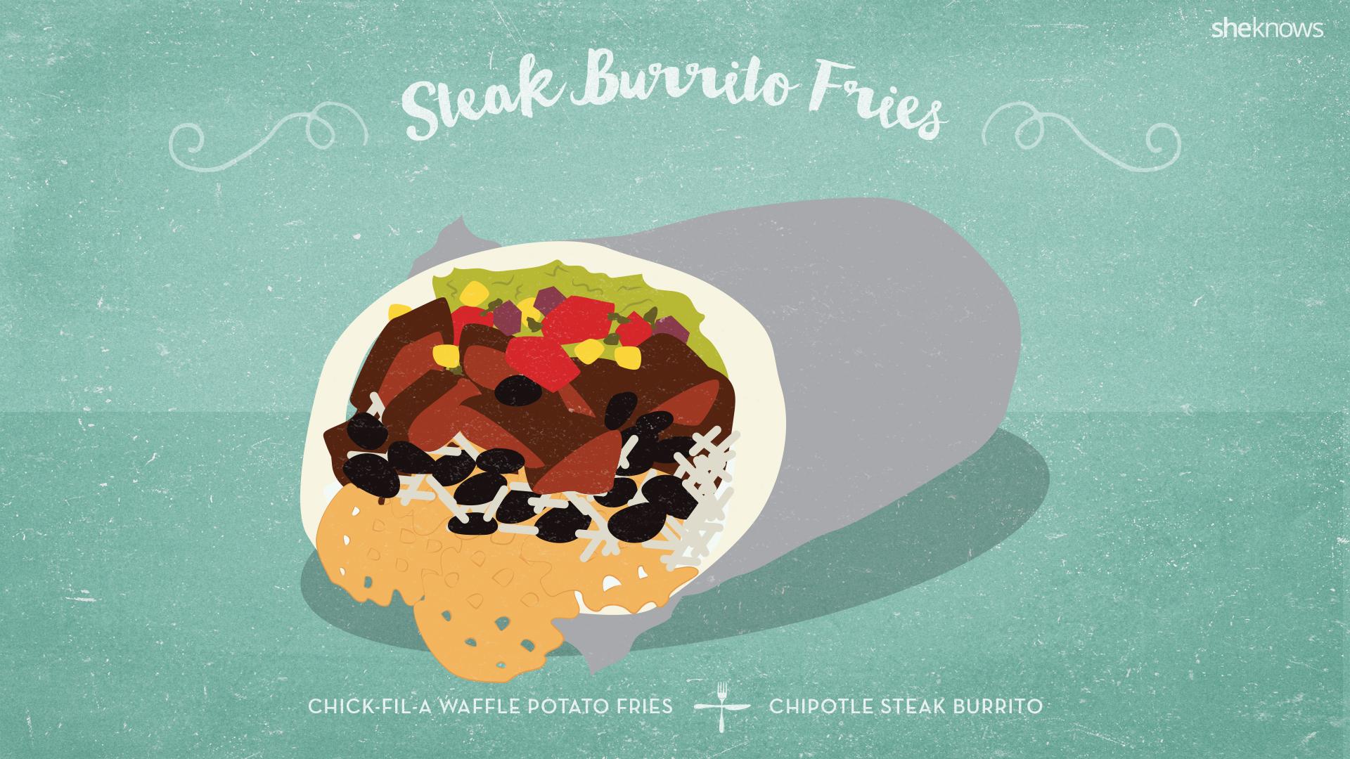 Steak Burrito Fries