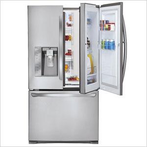 LG Super-Capacity French Door Refrigerator