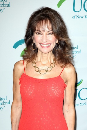 Susan Lucci red dress