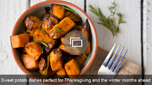 Sweet potato dishes perfect for Thanksgiving and the winter months ahead