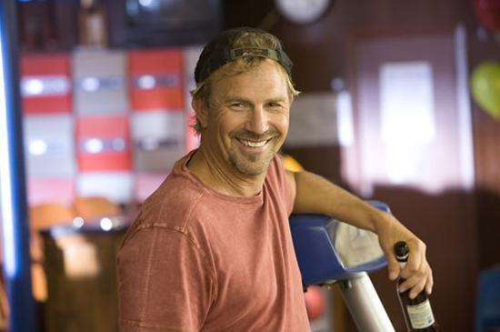 Smiling, always a Kevin Costner highlight