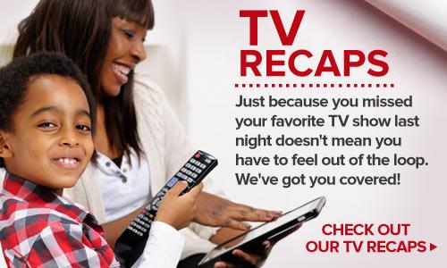 TV recaps banner