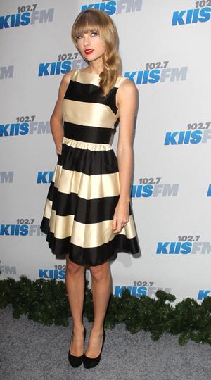 Taylor Swift at the Jingle Ball