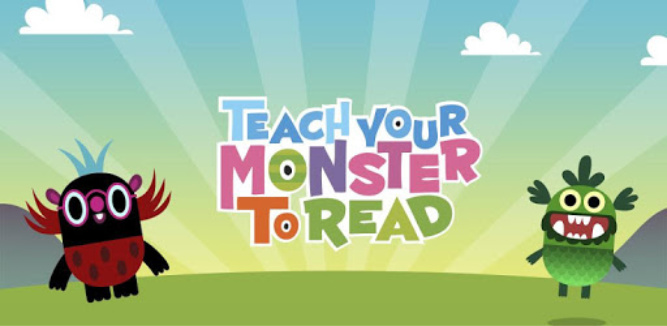 Teach Your Monster to Read - Best Kids Apps 2018