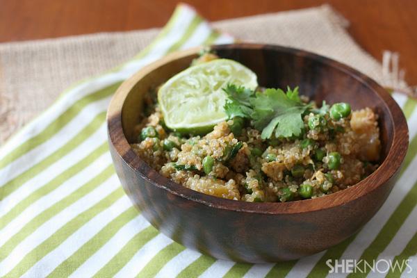 Fried Thai quinoa