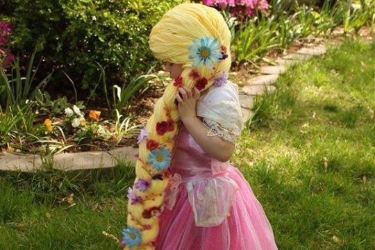 Kids with cancer get magical princess