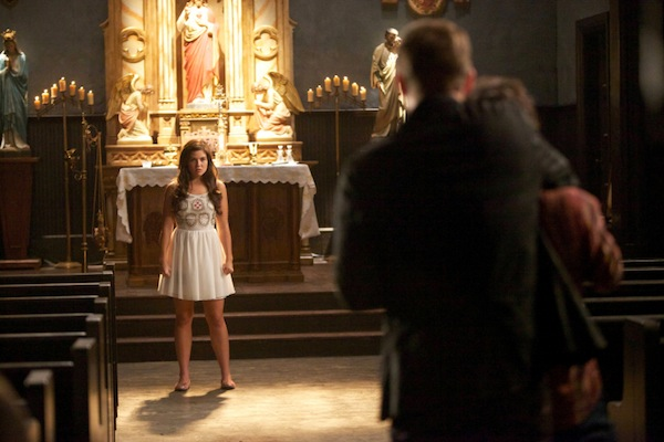 Davina takes on Klaus in The Originals