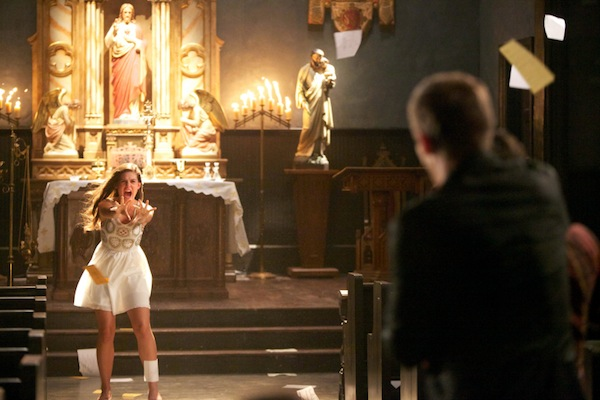 Davina gets angry in The Originals