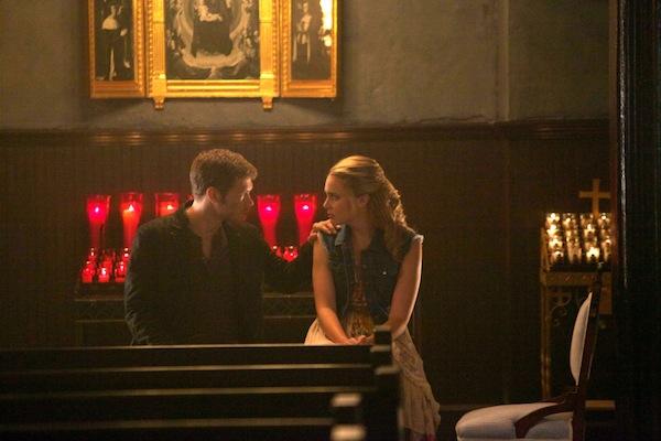 Klaus and Cami bond in The Originals