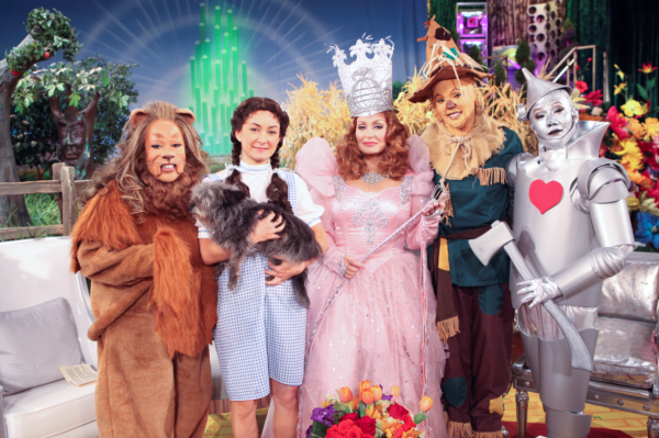 The Talk goes goes Wizard of Oz for Halloween